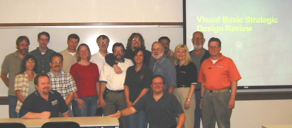 Attendees at Microsoft July 2002